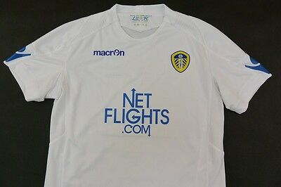 2010-2011 Macron Leeds United Home Shirt SIZE S (adults)