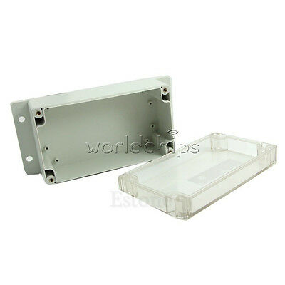 Waterproof 158x90x65mm Clear Plastic Electronic Project Box Enclosure Cover CASE