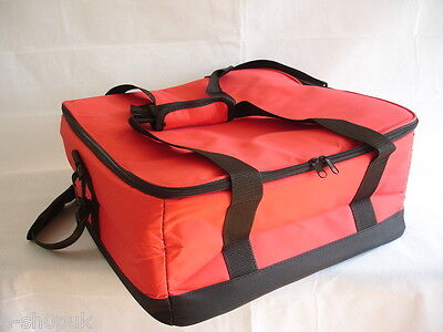 """Pizza Delivery Bag – 16"""" X 16"""" X 8"""" – Fast Food Insulated Delivery Bags T6"""
