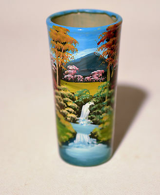 Hand Painted Art Collectible Shooter Shot Glass
