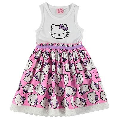 England  Sanrio ** Hello Kitty ** Kleid Sommer Rock Spitze 92 - 164
