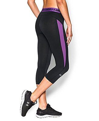 Under Armour Womens Coolswitch Pants, Black 004, Medium