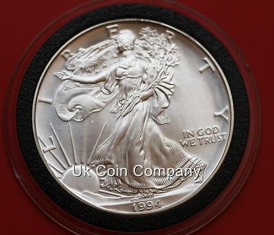 Usa United States 1oz Fine Silver Eagle Dollar 1 1987