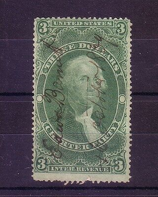 Usa: Charter party I stamp internal revenue 3 dollars. US090