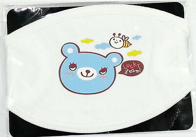 MOUTH MASK - MOUTH COVER - Blue Bear Lucky Dream