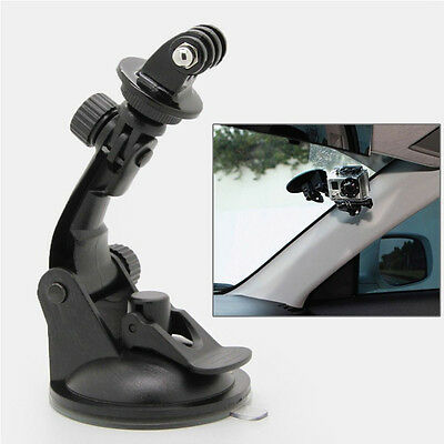 Car Suction Cup Window Glass Tripod Mount for Gopro Hero 1 2 3 Moving Camera