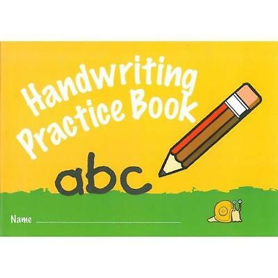 A5 Handwriting Practice Book School Children Pre-School Early Learning