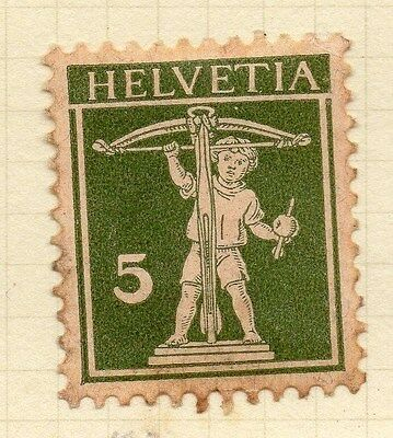 SWITZERLAND 1930 Early Issue Fine Mint Hinged 5c. 052488
