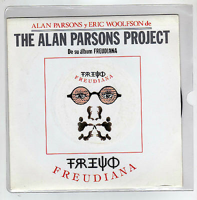 "THE ALAN PARSONS PROJECT  7 "" Only  Spanish Maxi FREUDIANA 2 tracks  1990  /16"