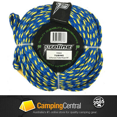 PROLINE MULTI PURPOSE (18mtr) TOW SKI ROPE FOR INFLATABLE TUBE BISCUIT