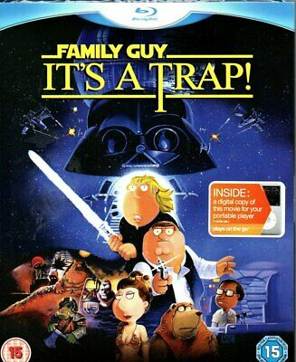 Family Guy - It's A Trap! (Blu-ray + DVD + Digital Copy)-Region B -Brand New-Sti