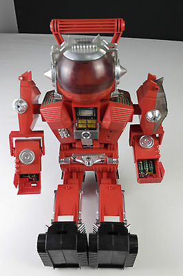 02 - VINTAGE Matchbox Cargantua LARGE RARE ROBOT MADE IN 1985