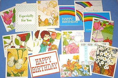 Unused vintage vintage greeting cards paper collectibles page 27 19 vintage all occasion mini greeting cards current inc m4hsunfo