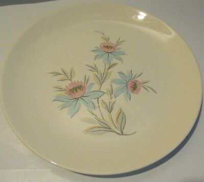 Steubenville Pottery Co. Usa Fairlane Pattern 1-10 Inch Dinner Plate (16-399)