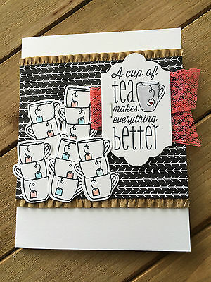 HELLOMIMICARDS - Handmade Greeting Cards - A Cup of Tea Makes Everything Better