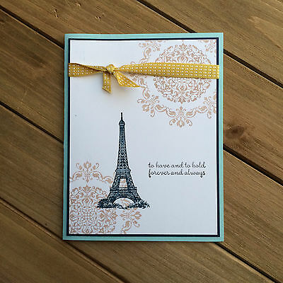HELLOMIMICARDS - Handmade Greeting Cards - Eiffel Tower Love