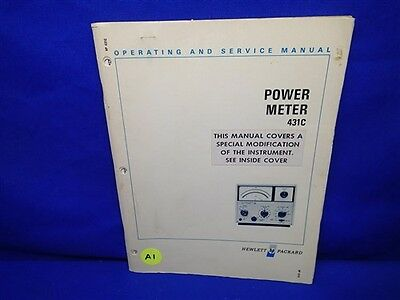 hp 435a power meter manual