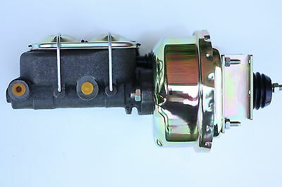 "1964, 65, 66 Ford Mustang 7"" Power Brake Booster Kit with master cylinder 5H3"