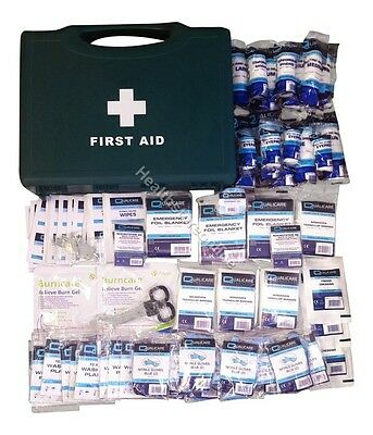 HSE 1-10, 1-20, 1-50 First Aid Kit - BSI BS8599 Compliant Kits + Refills