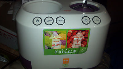 Baby Chef Ultimate Baby Food Center Baby Food Maker Pulse Defrost Warmer