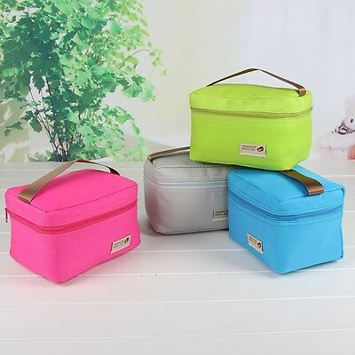 1 X Small Cool Thermo Bags Lunch Picnic Waterproof Package Portable Handbags