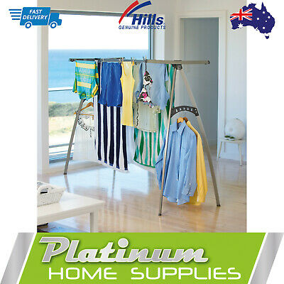 Airer Clothes Line Rack Hills 120 Portable Indoor ClothesLine Dryer Folding New