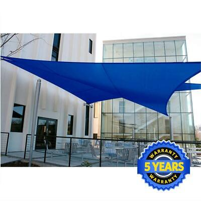 Quictent 10 X15 Rectangle Sun Sail Shade Uv Top Outdoor Patio Canopy Cover Sand