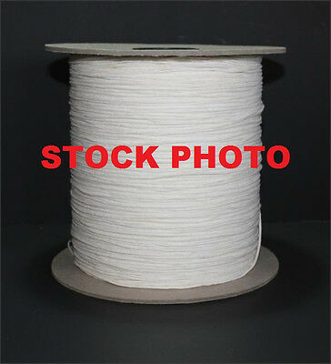 40 Yards Of Square Braided Cotton Candle Wick 6/0 - Spool Not Included