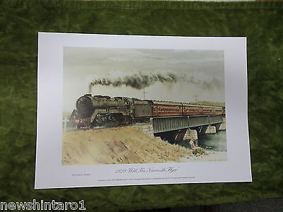 Approx.  84  Australian  Railway   Posters - 3828 With Newcastle  Flyer, Pickup