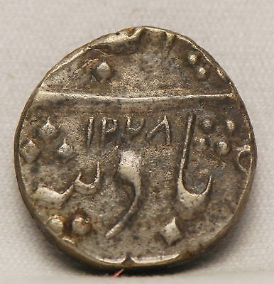 India: Baroda, 1813 (AH1228) (yr.8) 1/2 Rupee, silver, Very Fine           gm,gm