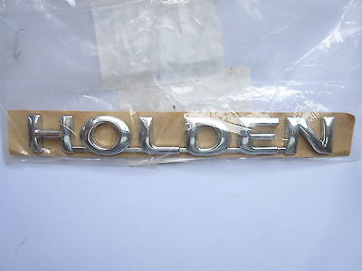 Holden Vs Commodore Ss Wagon Ute Chrome ' Holden ' Tailgate Badge New Genuine