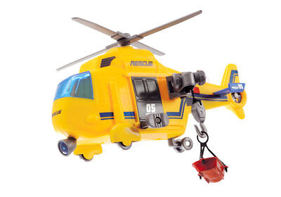 Dickie Action Series Rescue Copter ca 18 cm Helikopter Hubschrauber Licht Sound