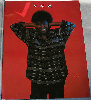 Joan Armatrading Tour Program '85 U.S. Canada U.K. Feb/Mar/Apr/May/Jun 1985
