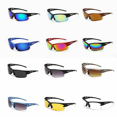 Outdoor Sport Riding Cycling Sun Glasses Motorcycle Bike Goggles PC Lens UV400