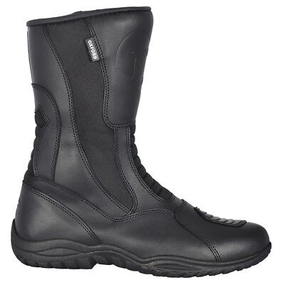 Oxford Tracker Waterproof Motorbike Motorcycle Leather Touring Rider Boots