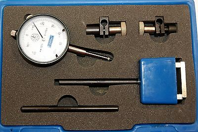 "Fowler 52-520-707  Long Range Indicator Test Set, 1"" Maximum Measuring Range"