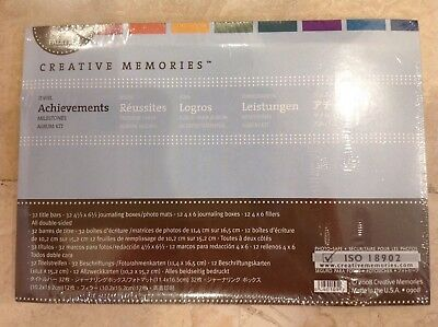 Creative Memories Power Palette Album Kit Jewel Heritage Milestones  Nip