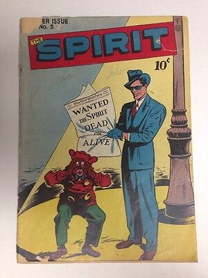 The Spirit 5 Summer 1946 GD Golden Age