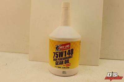 NEW Red Line 75W140 GL-5 Gear Oil with Friction Modifiers REDLINE