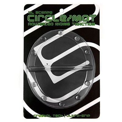 NEW Grayne Circle Snowboard Stomp Pad Clear with Scraper & Superior Grip