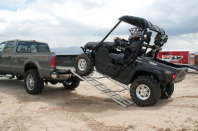 Fly Racing PR-38A Adjustable Folding ATV/Cycle Ramp 79in. x 57in.