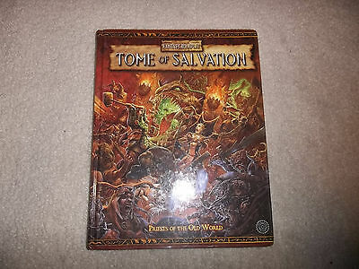 Warhammer Fantasy 2nd Ed Tome of Salvation hardcover