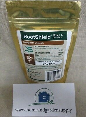 """ROOTSHIELD H/G Biological Fungicide """"Brand New Packaging"""" 4oz. OMRI Certified."""