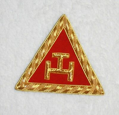 Pair Royal Arch Principals Insignia Patch for Apron or Sash  Free Delivery