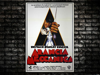 Movie Poster Arancia Meccanica 100x140 CM - Clockwork Orange - Stanley Kubrick