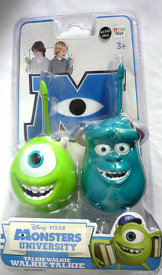 Disney Pixar / Monsters University / Walkie Talkies / New & Sealed