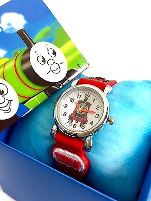 Thomas the tank engine James kids Watch box free shipping RED with gift box