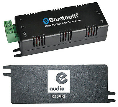 E-Audio Bluetooth 4.0 Stereo Audio Amplifier 2 x 15 W With 2x3m Cable & PSU