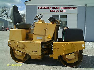 "Dynapac Cc10 42"" Diesel Double Drum Vibratory Roller, Dynapac Roller, Roller"