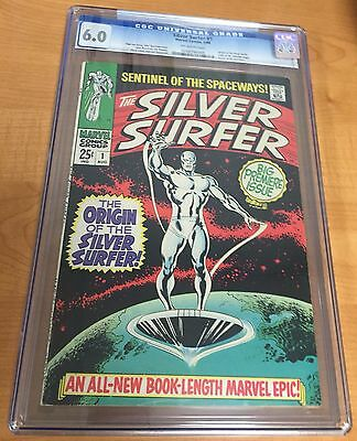 The Silver Surfer #1 (Aug 1968, Marvel) CGC 6.0